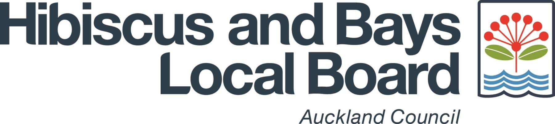 Hibiscus and Bays Logo