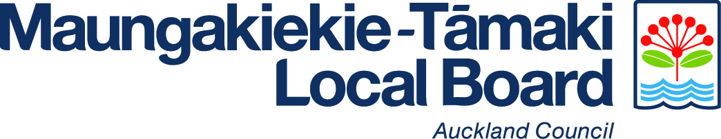 MAungakiekie-Tamaki Local Board logo