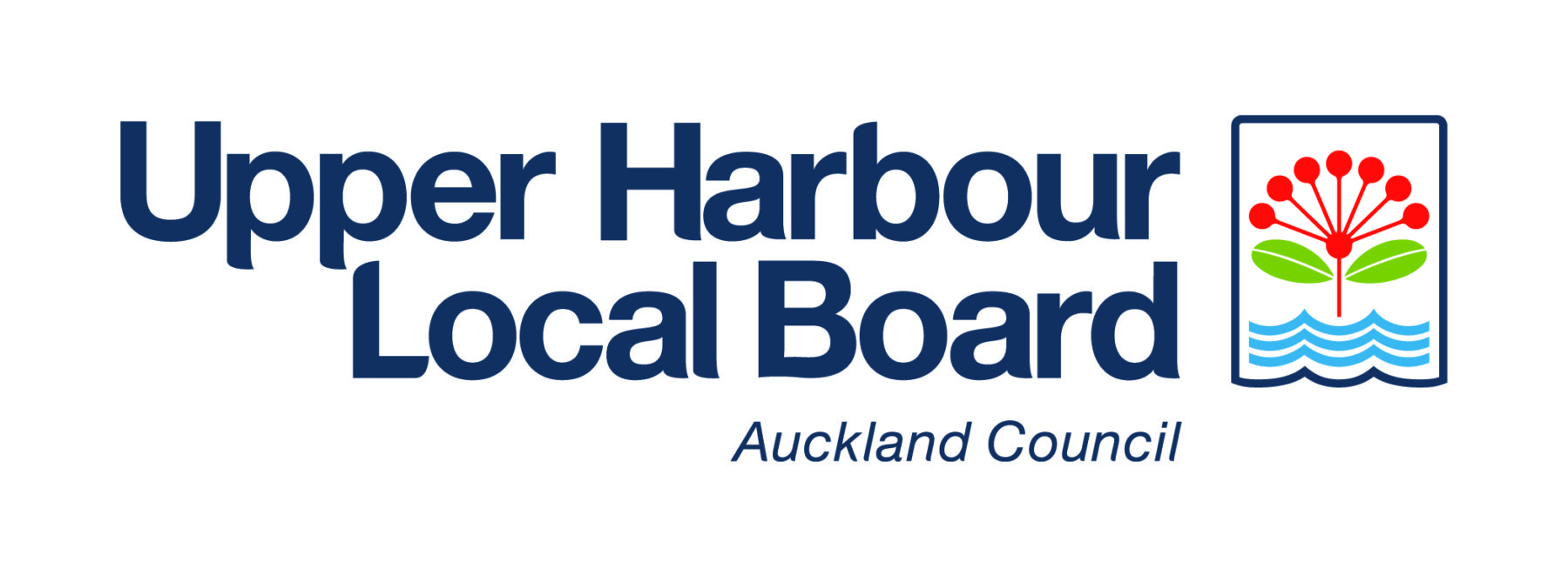 Upper Harbour Local Board Logo